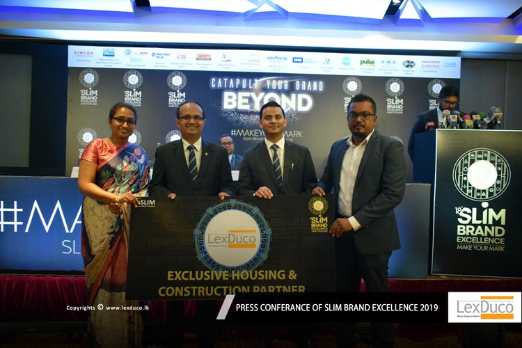 Press Conferance of SLIM Brand Excellence - 2019 | Lex Duco