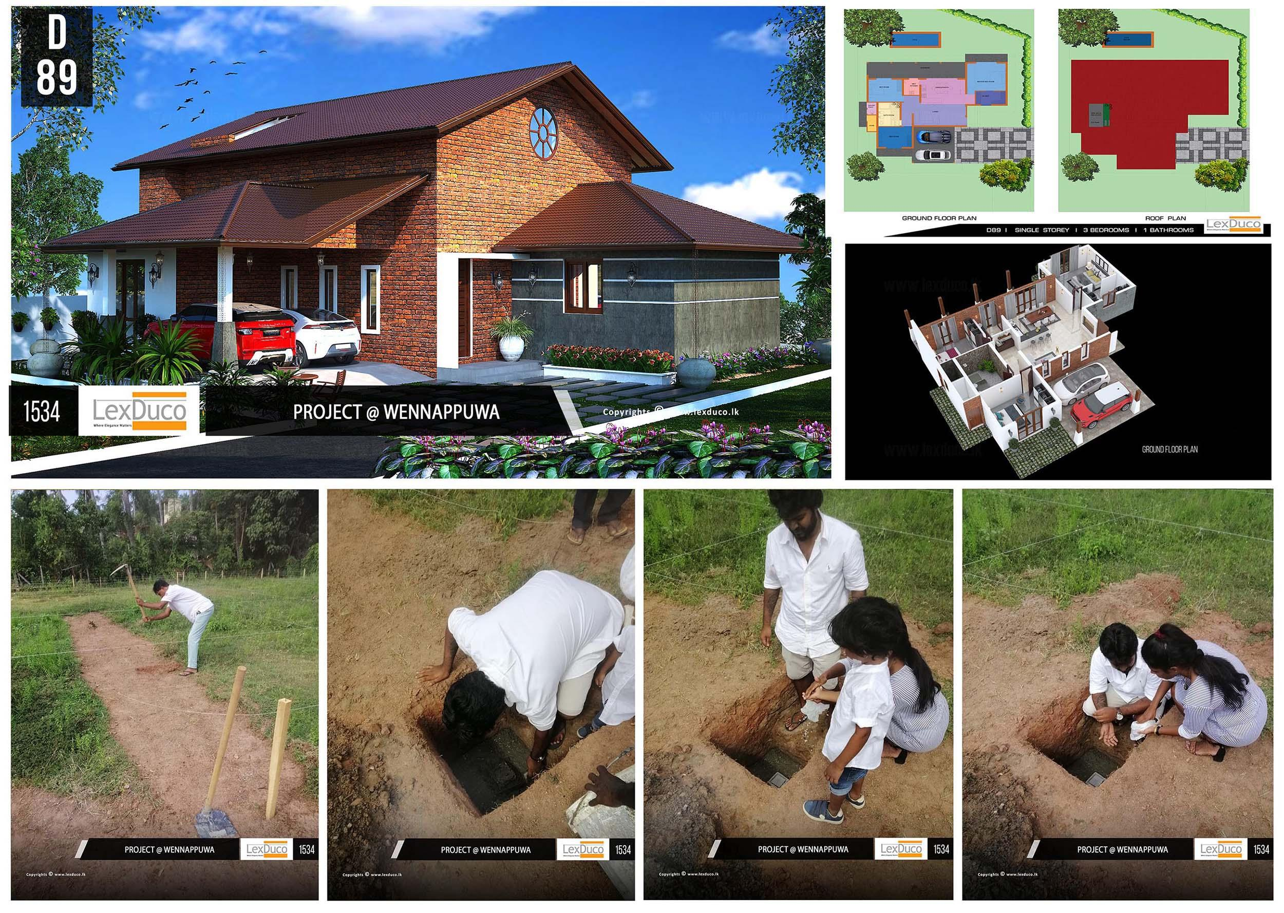 Residential Housing Project at Wennappuwa | Lex Duco