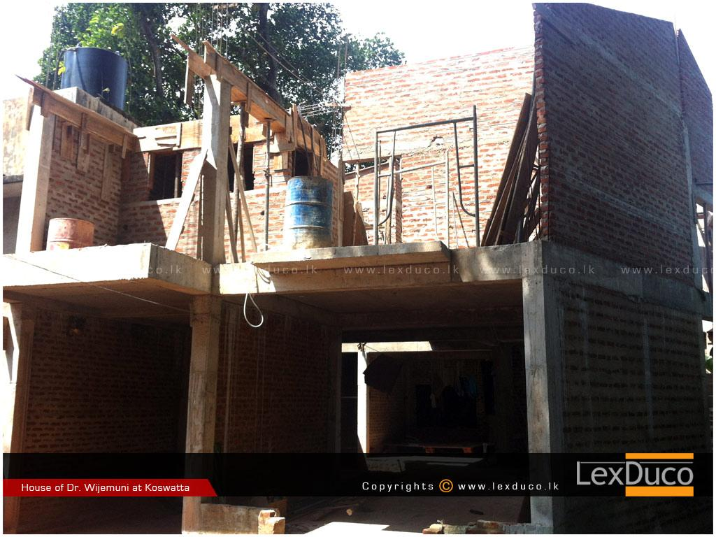 Residential Housing Project at Koswatte | Lex Duco