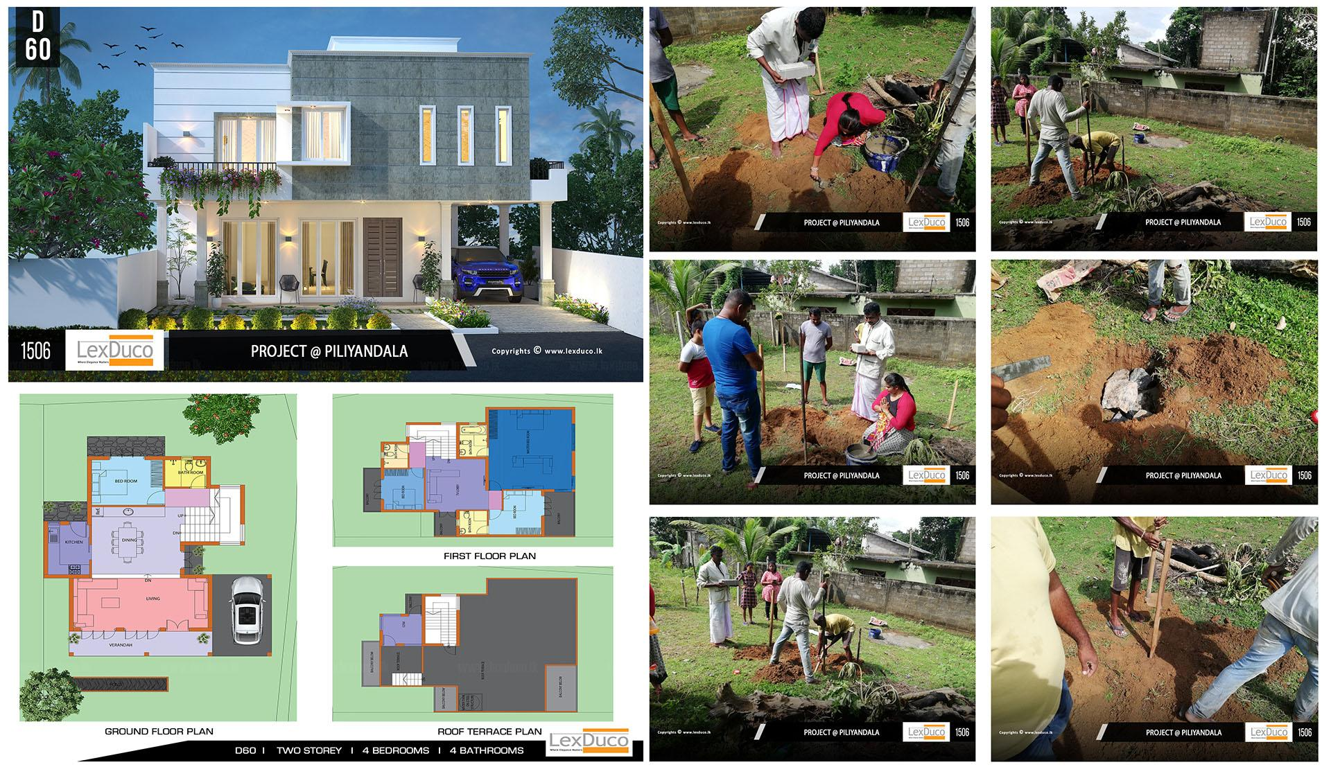 Residential Housing Project at Piliyandala | Lex Duco
