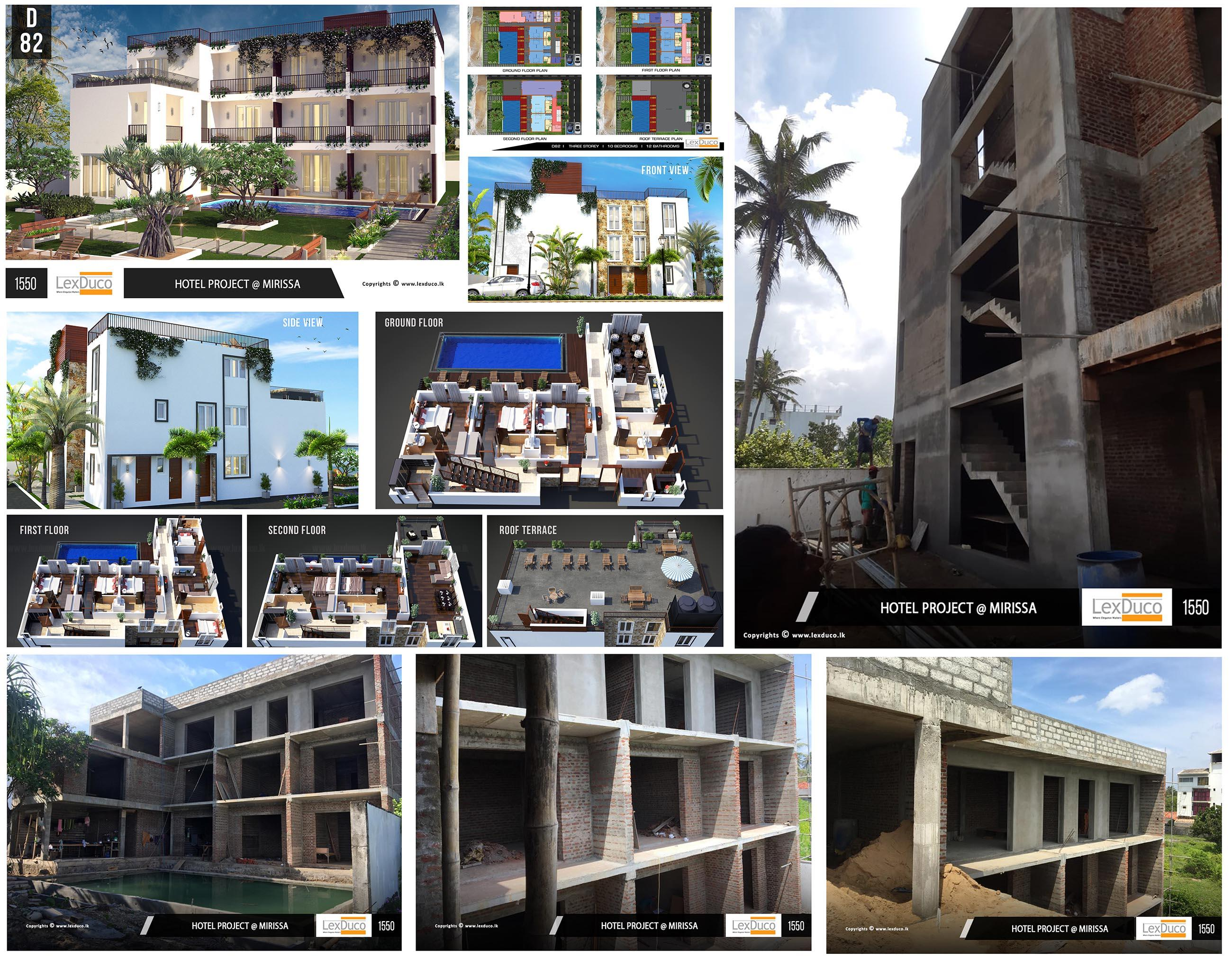Hotel Project at Mirissa | Lex Duco