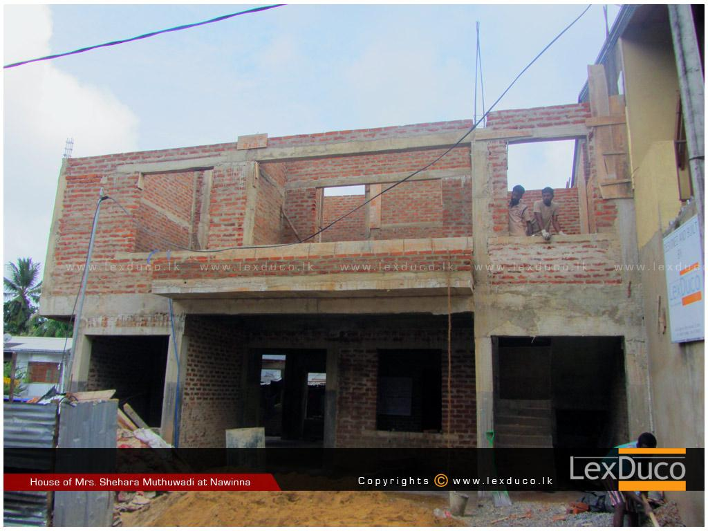 Residential Housing Project at Nawinna | Lex Duco