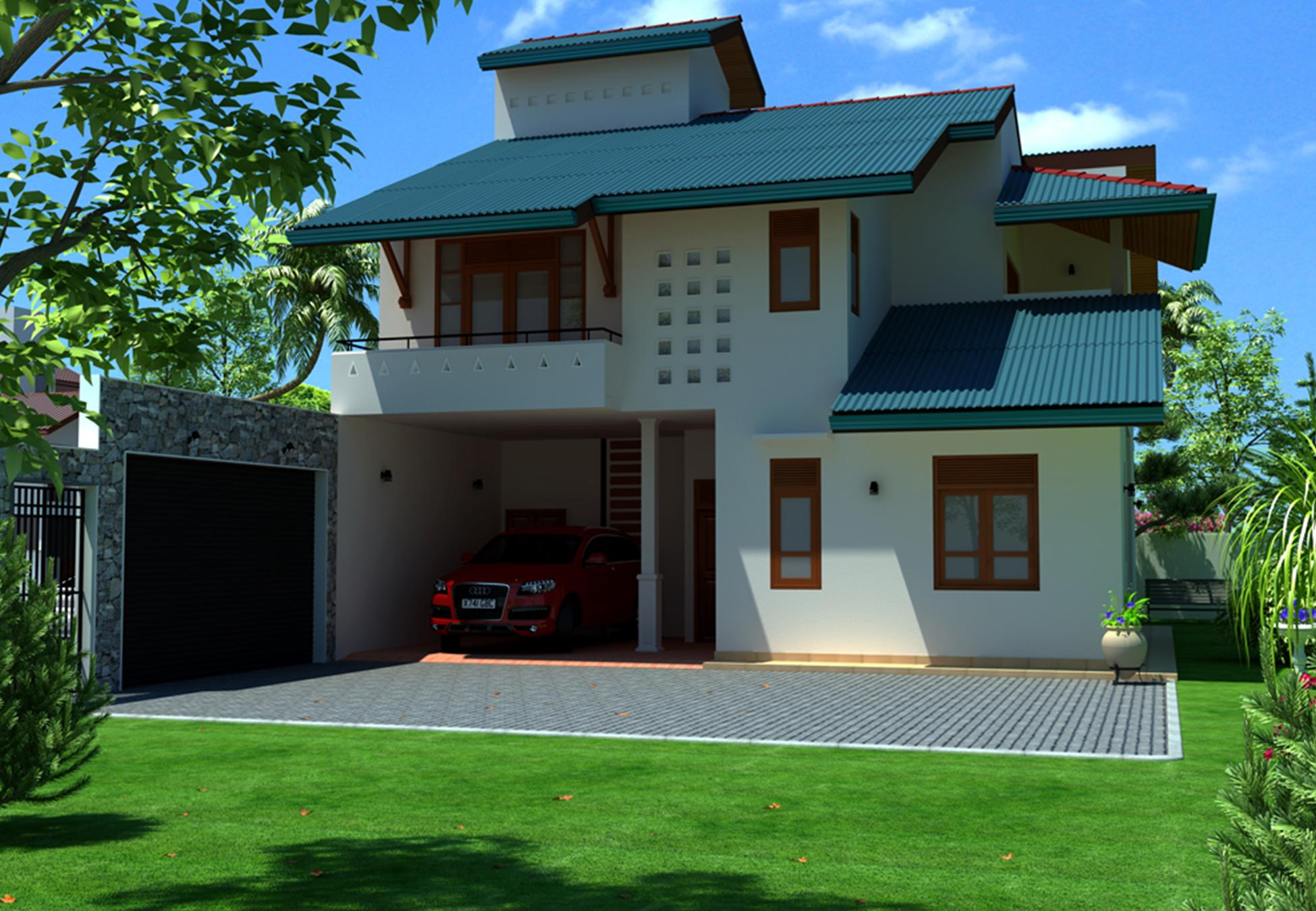 1 house builders in sri lanka 1 home house design for New home plans with photos