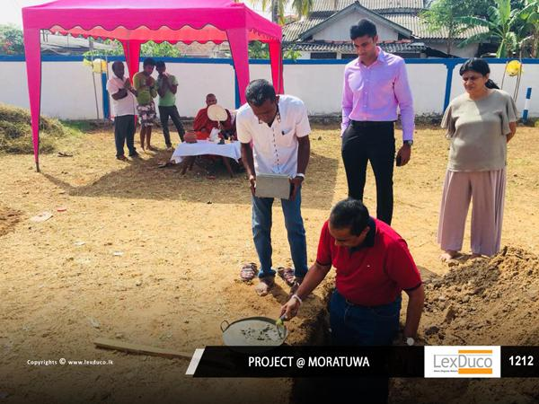 Residential Housing Project at Moratuwa | Lex Duco