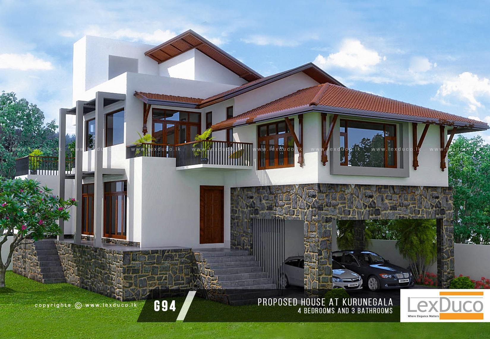 Single Storey House Plans