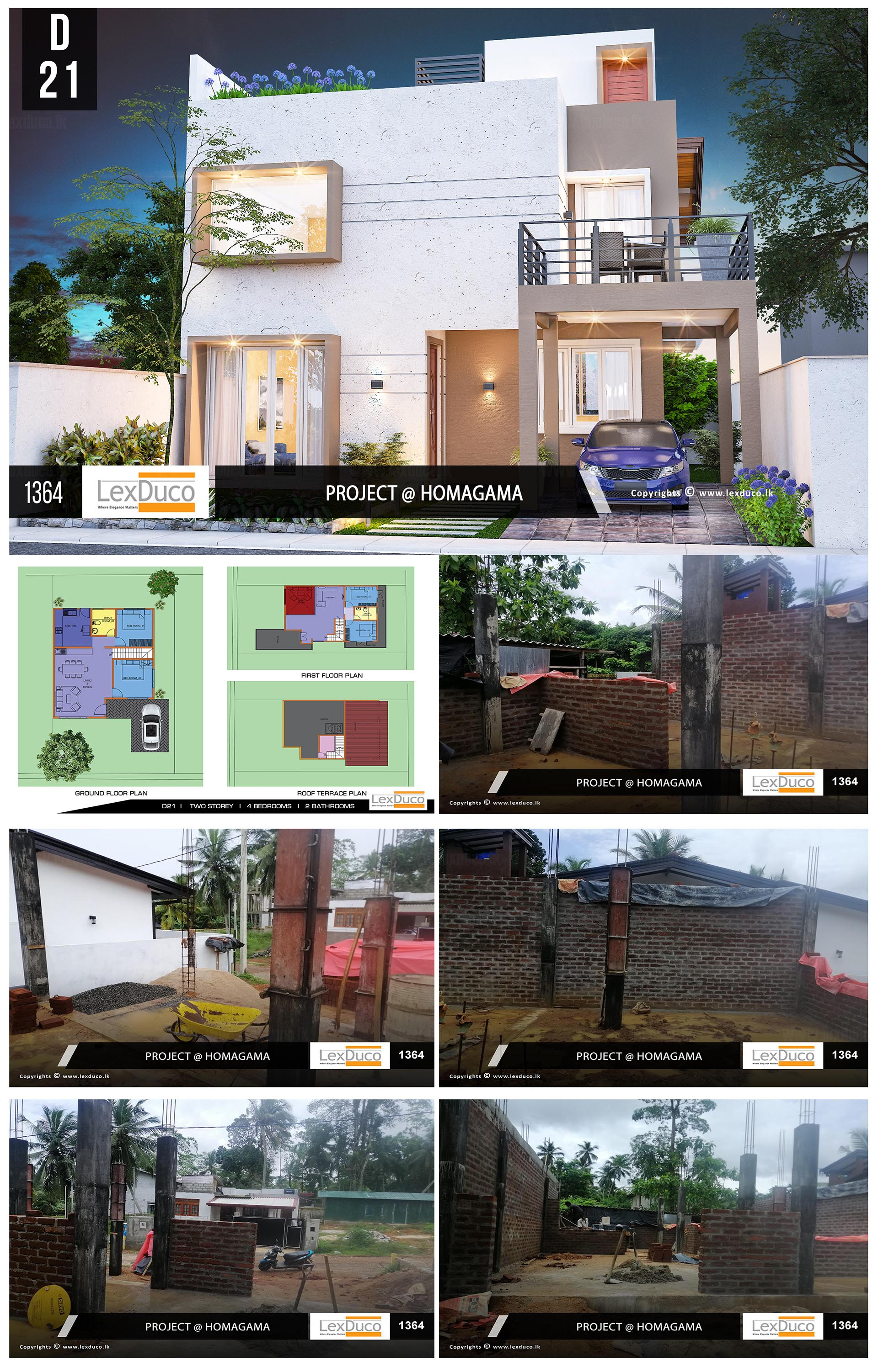 Residential Housing Project at Homagama | Lex Duco