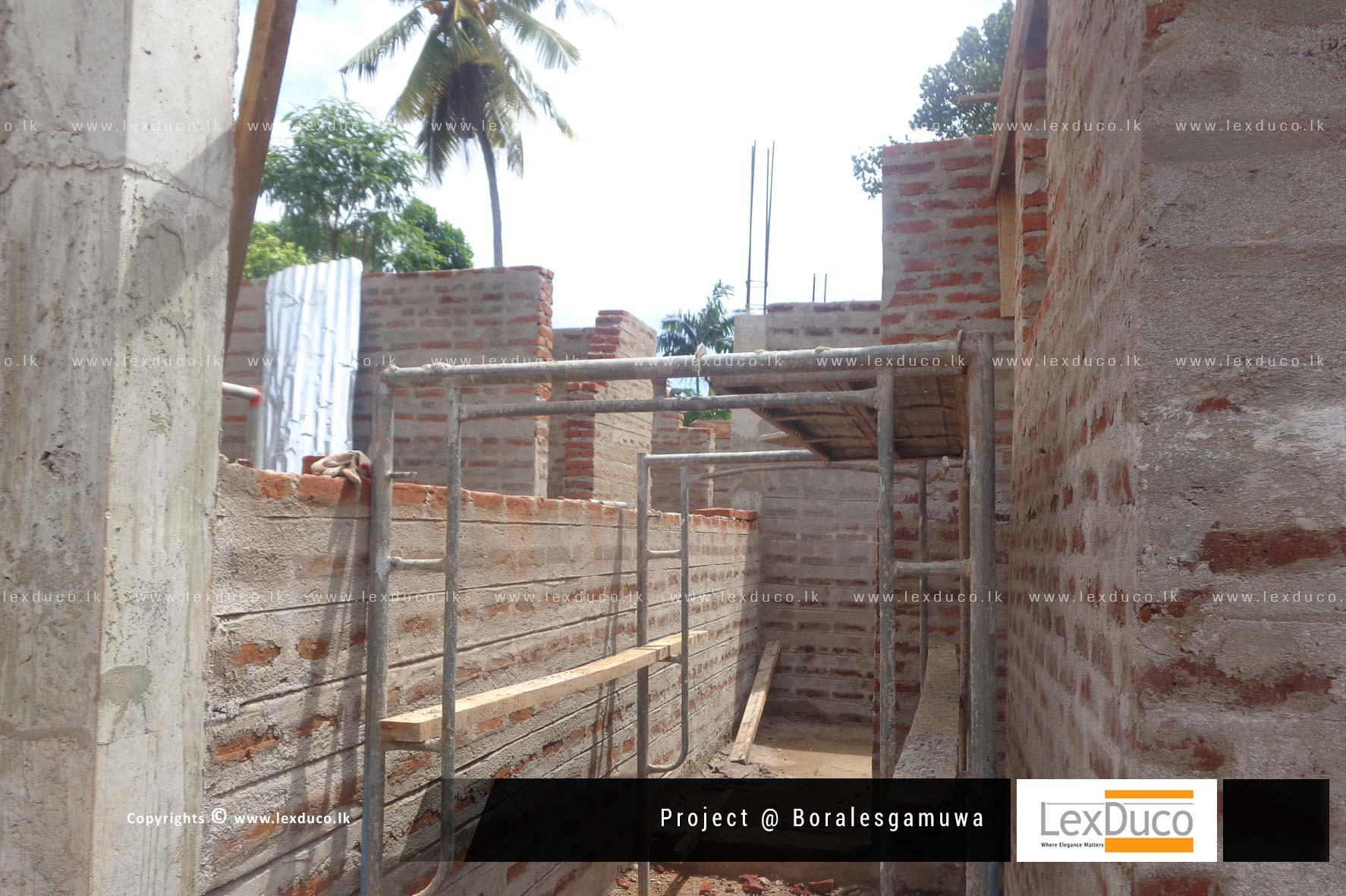 Residential Housing Project at Borelasgamuwa | Lex Duco