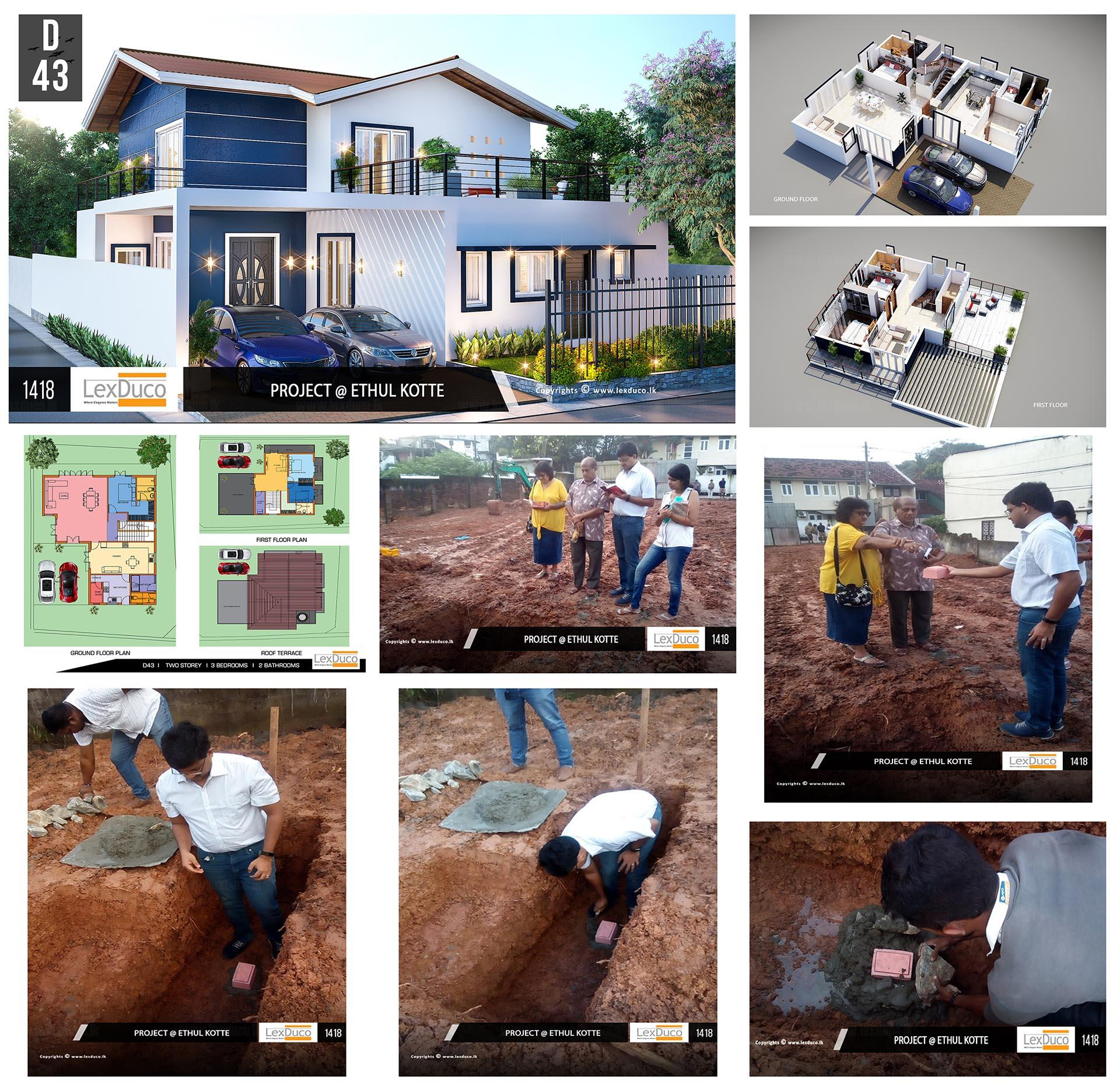 Residential Housing Project at Ethul Kotte | Lex Duco