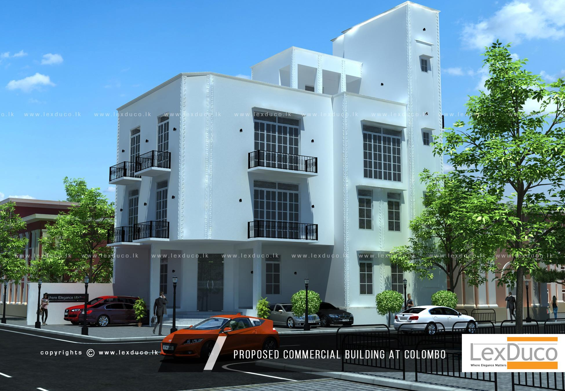 Proposed Commercial Building for Thai Embassy | Lex Duco