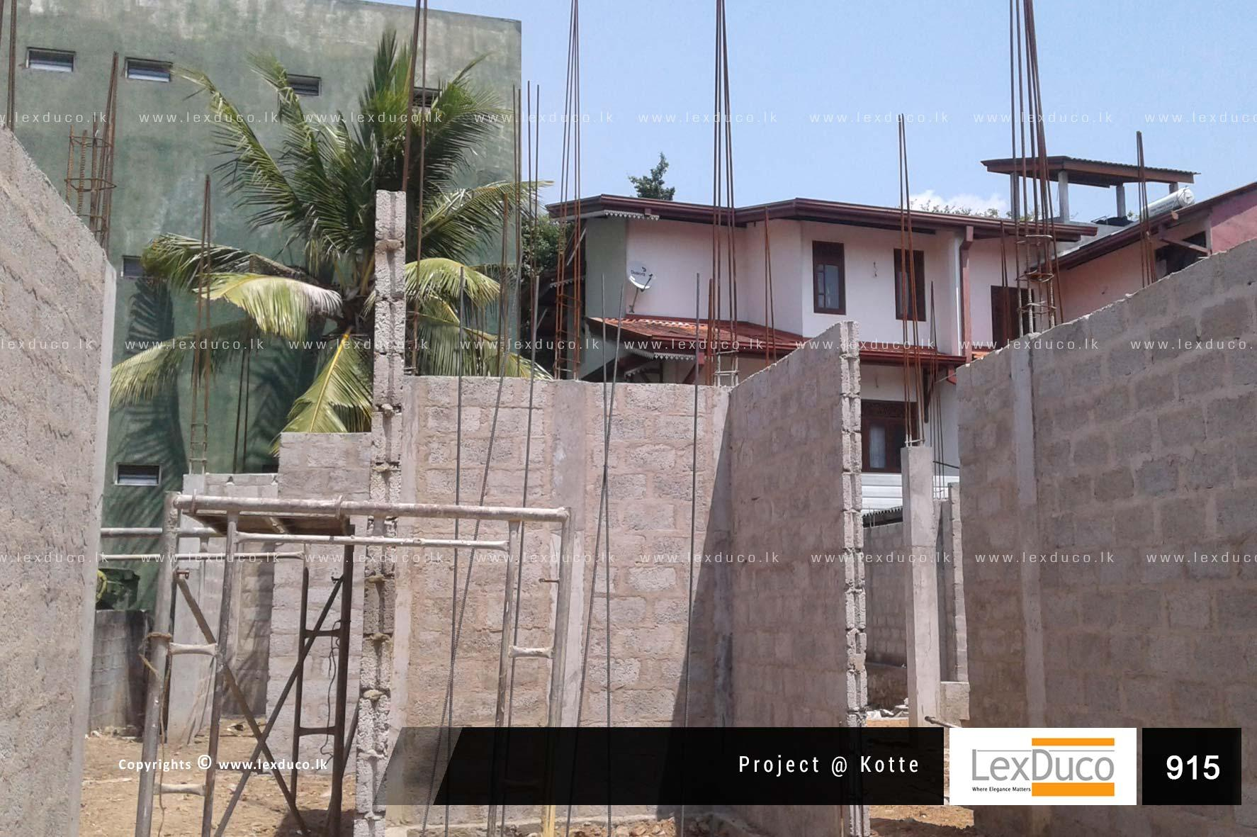 Residential Housing Project at Kotte | Lex Duco