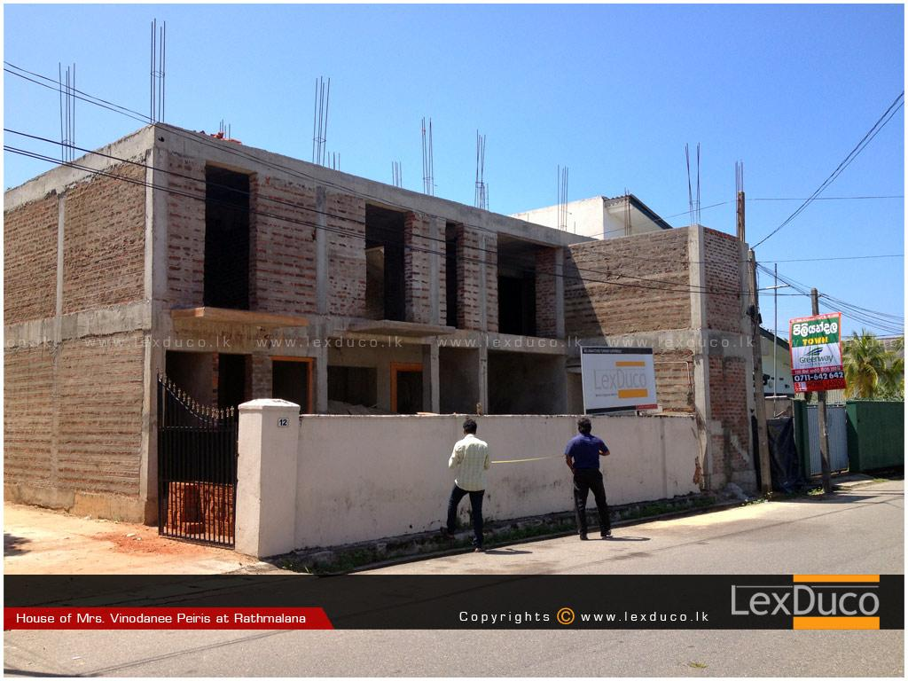 Residential Housing Project at Ratmalana | Lex Duco