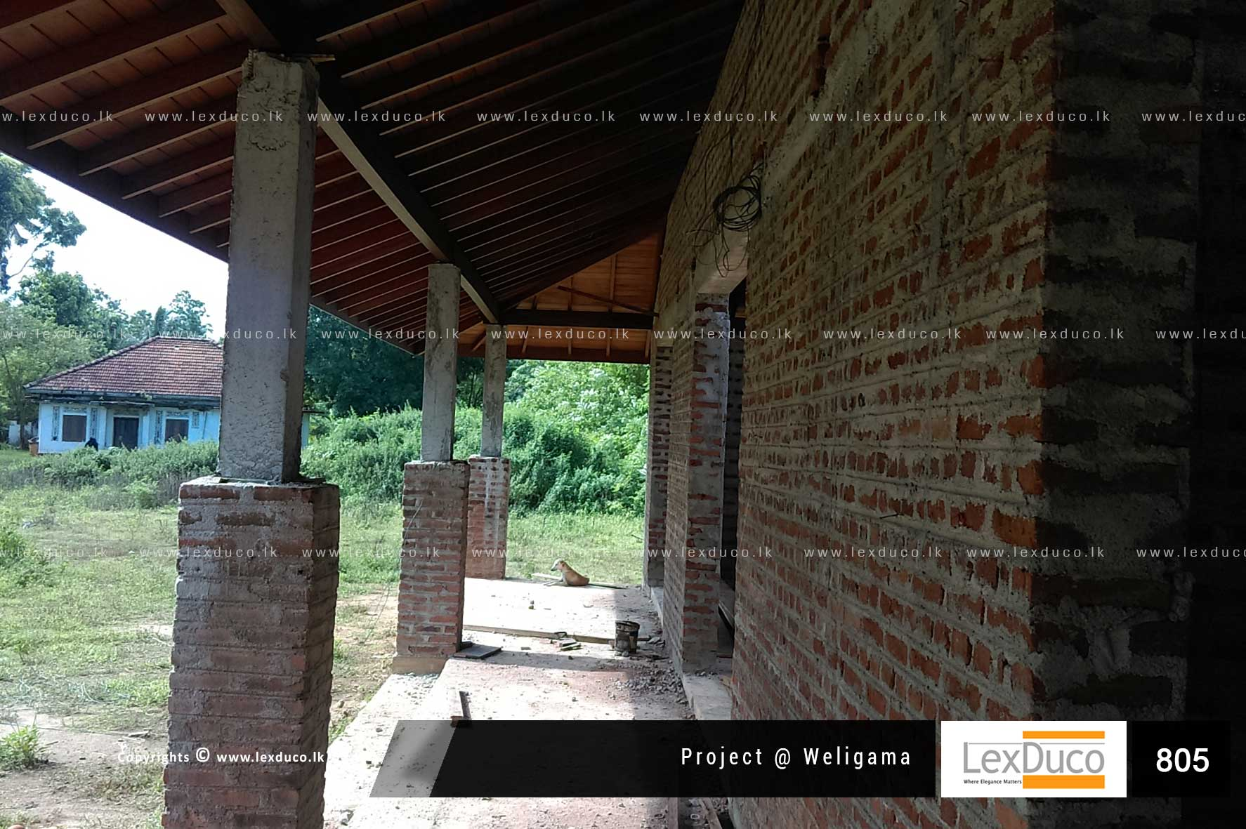 Residential Housing Project at Weligama  | Lex Duco