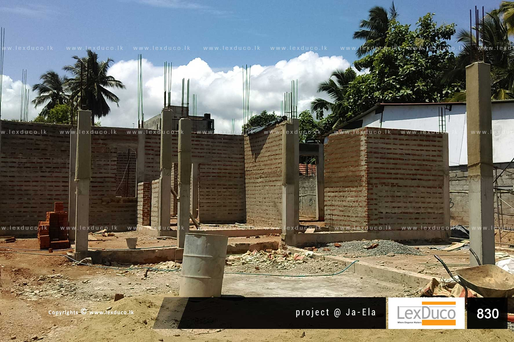 Residential Housing Project at Ja - Ela | Lex Duco