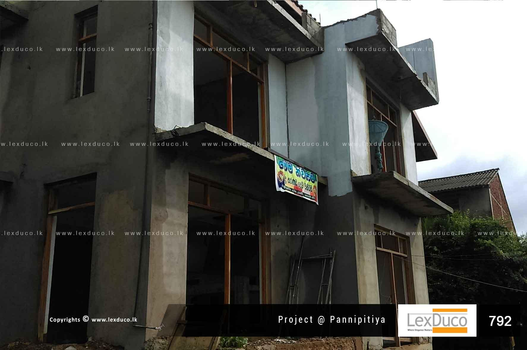 Residential Housing Project at Pannipitiya | Lex Duco