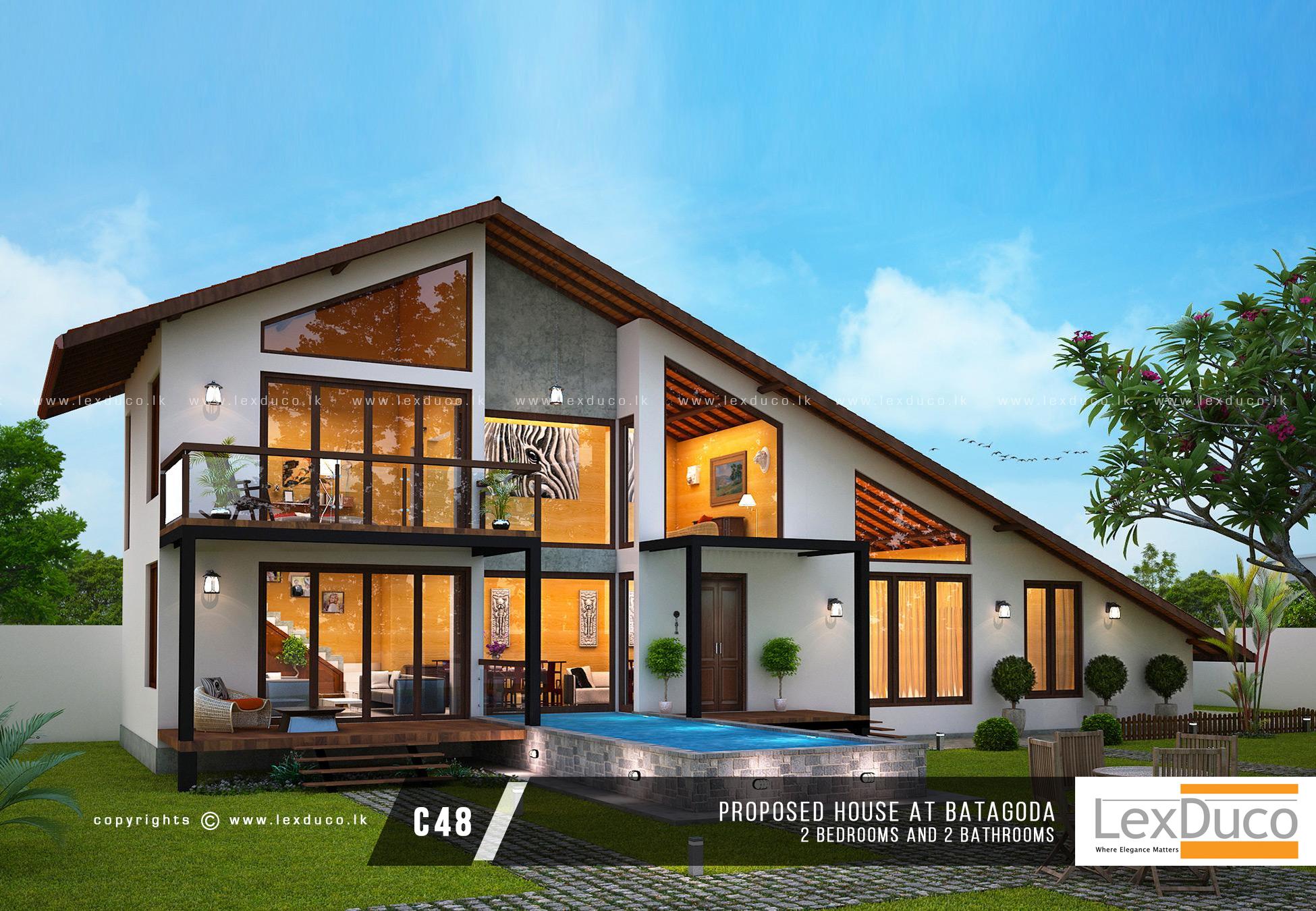 1 House Builders In Sri Lanka Home Design amp Build Company Lex Duco