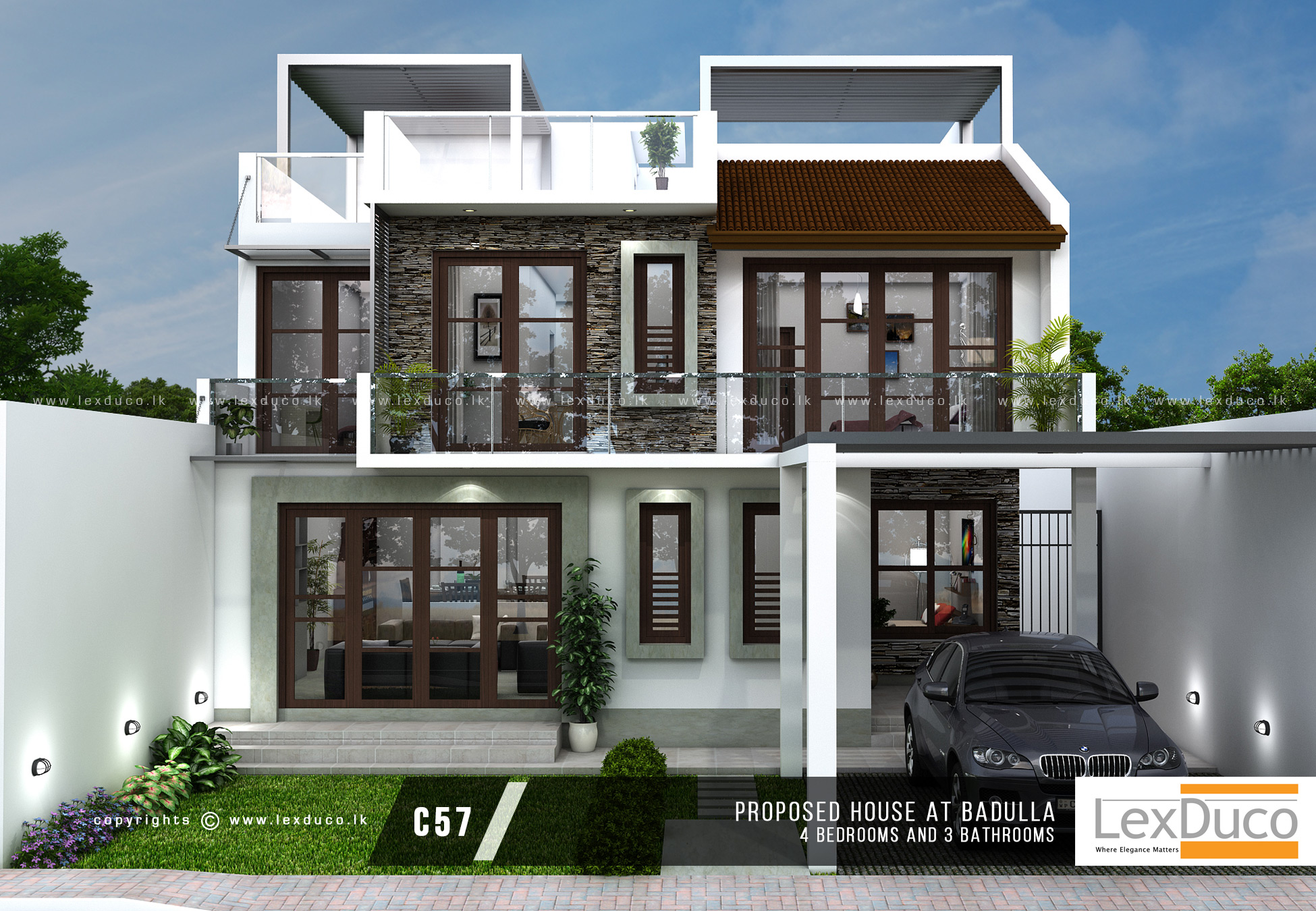 1 house builders in sri lanka 1 home house design for Balcony designs pictures sri lanka