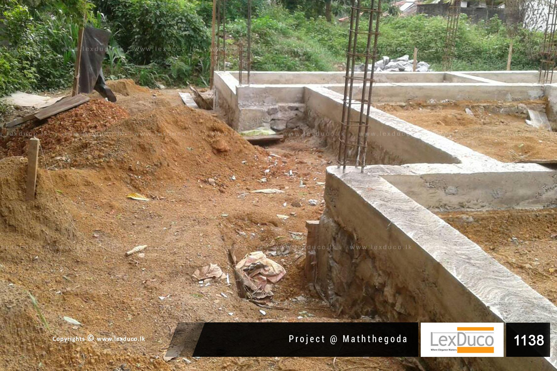 Residential Housing Project at Maththegoda   Lex Duco