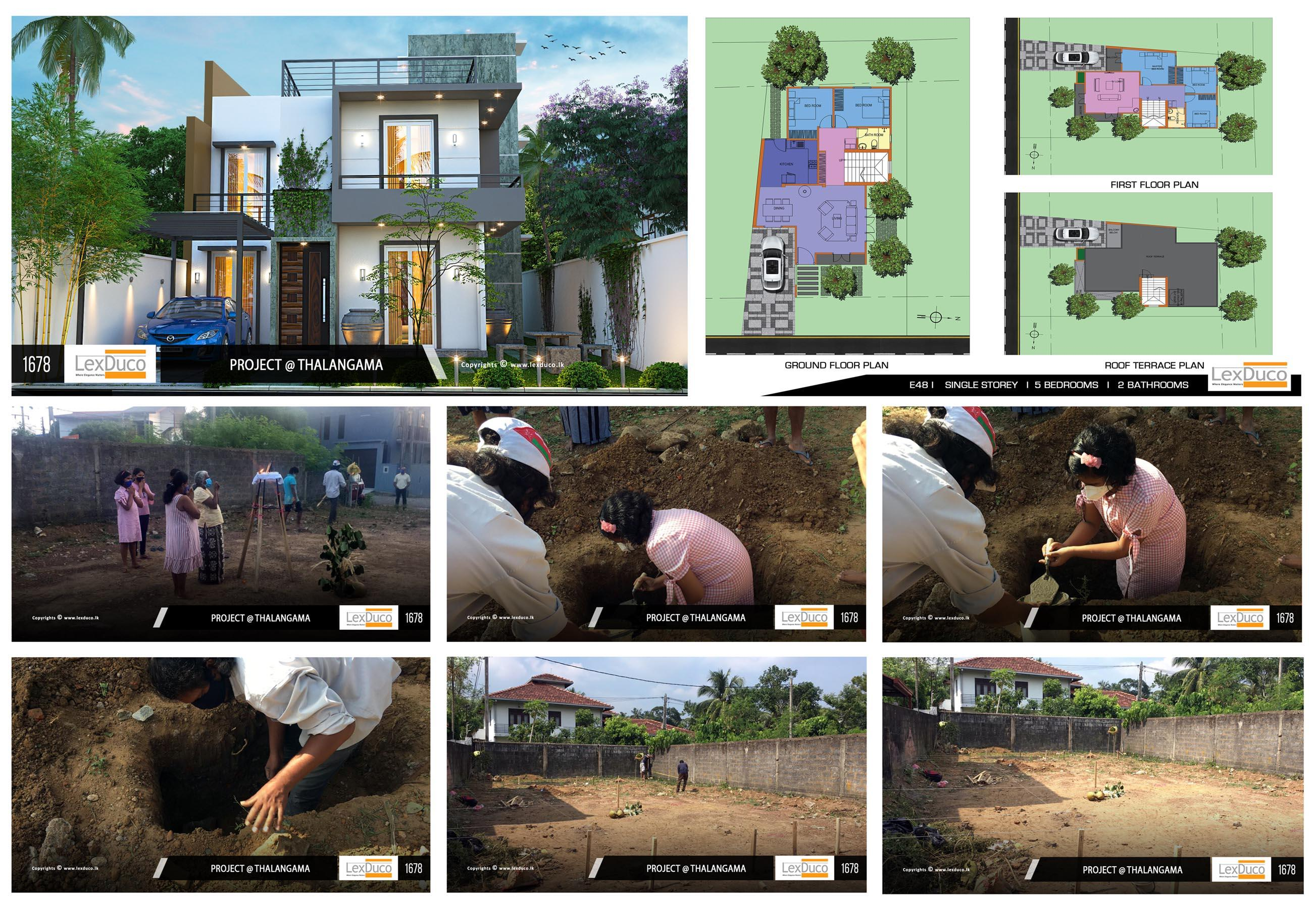 Residential Housing Project at Thalangama | Lex Duco