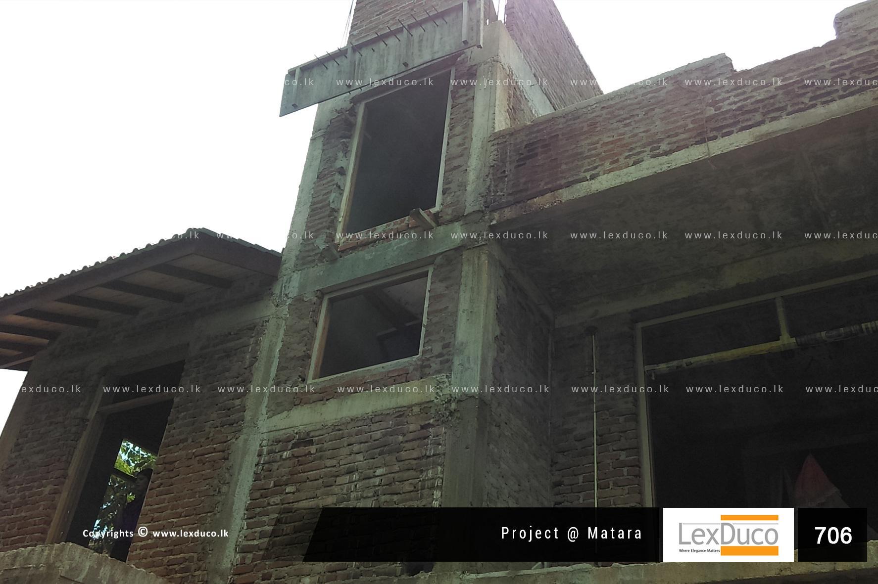 Residential Housing Project at Matara   Lex Duco