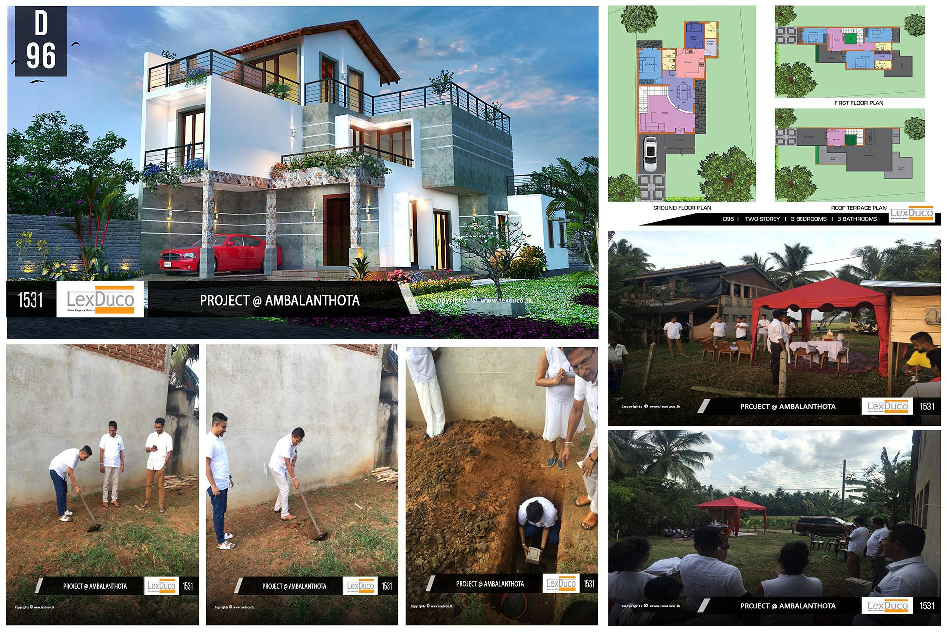 Residential Housing Project at Ambalanthota | Lex Duco