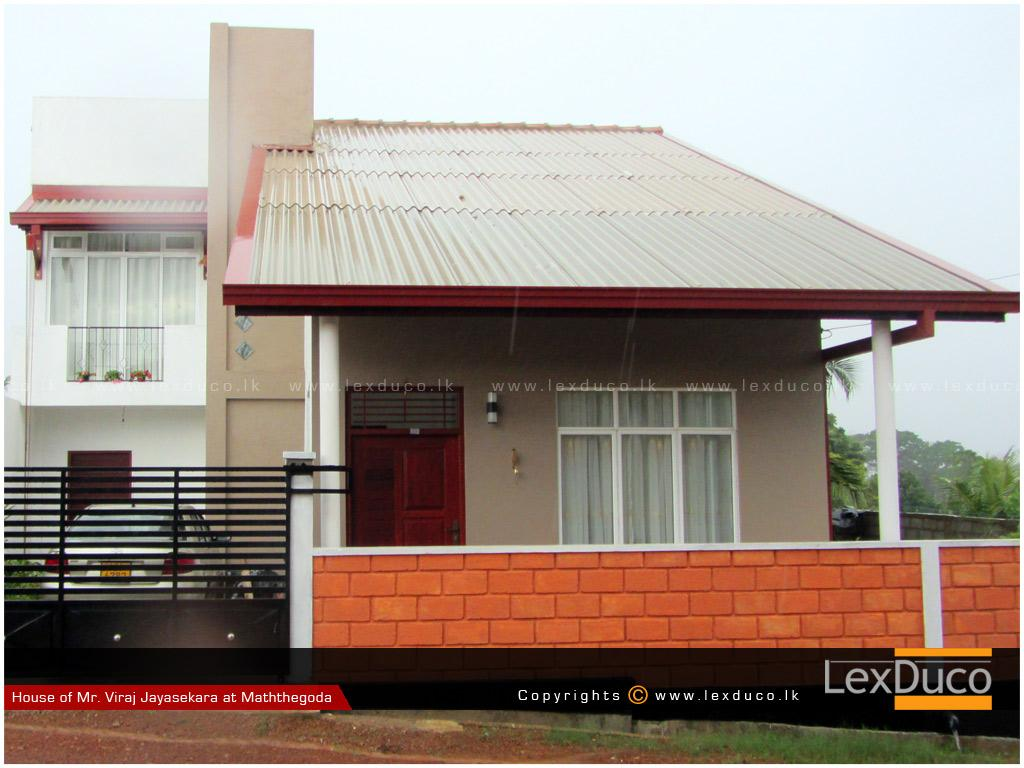 Residential Housing Project at Mathegoda | Lex Duco