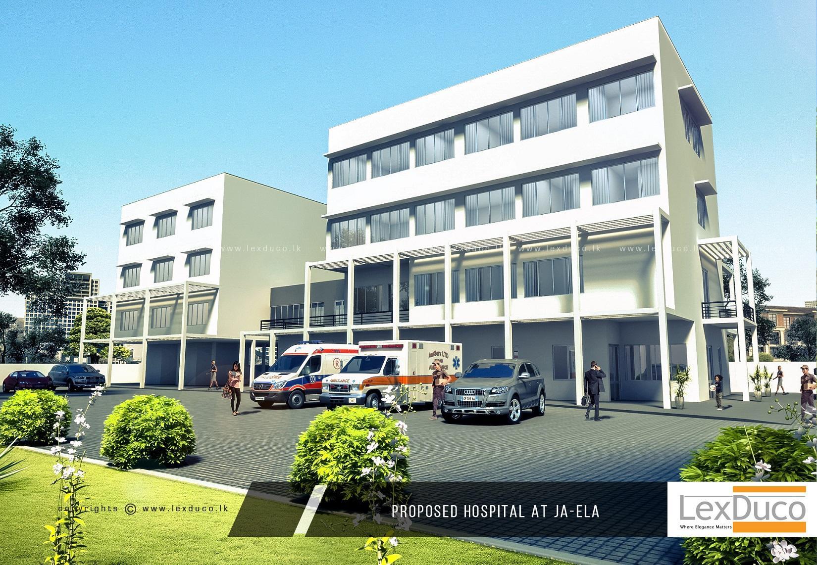 Hospital at Ja-Ela | Lex Duco